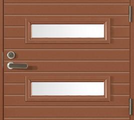 HDF -levypintaiset alumiinijäykistetyt ovet